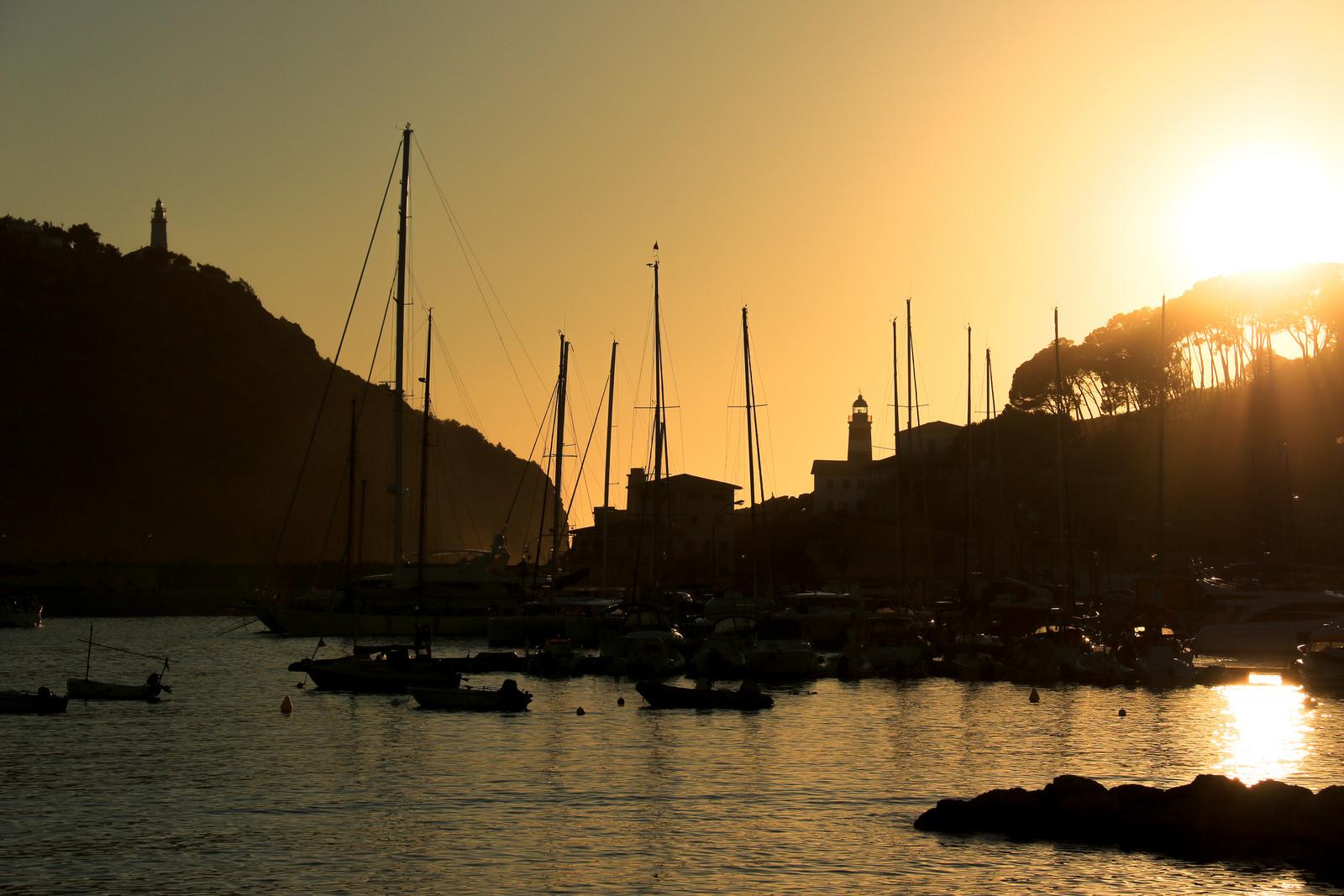 Abendstimmung in Port de Sóller