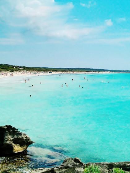 Mallorca-Sternchen / Karibikfeeling am Es Trenc