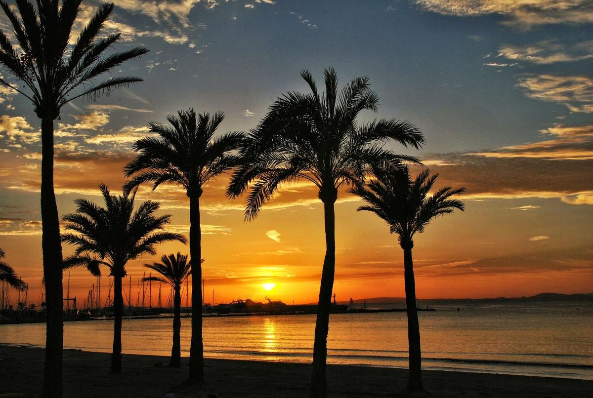 Sonnenuntergang Arenal