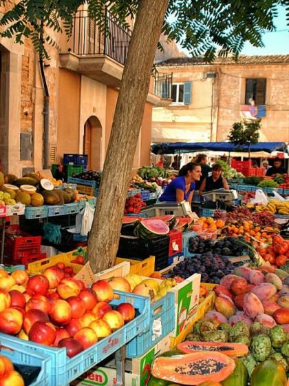 Markt in Santanyí