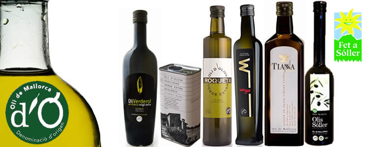 Olivenöle Oli de Mallorca D.O