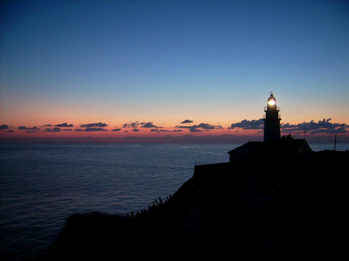 Sonnenaufgang am Leuchtturm von Capdepera