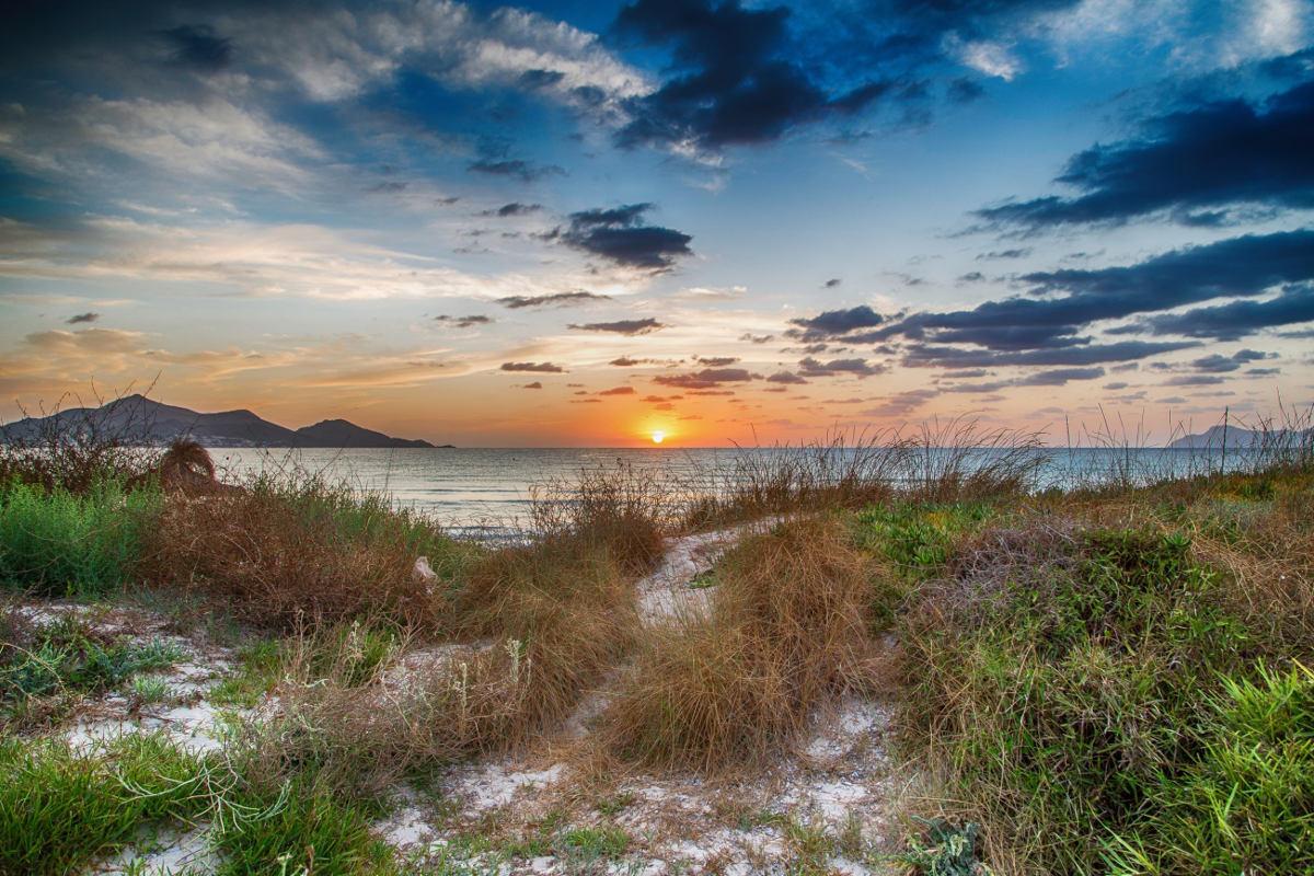 Sonnenaufgang in der Bucht von Alcúdia