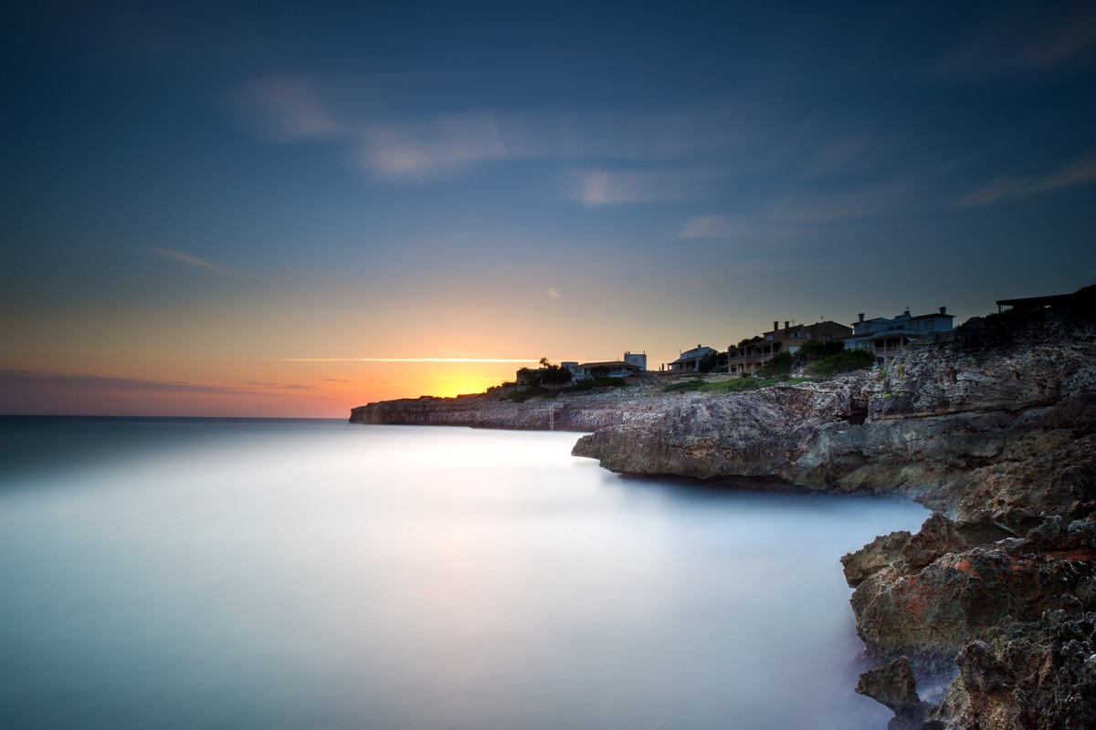 Sonnenaufgang an der Cala Marçal