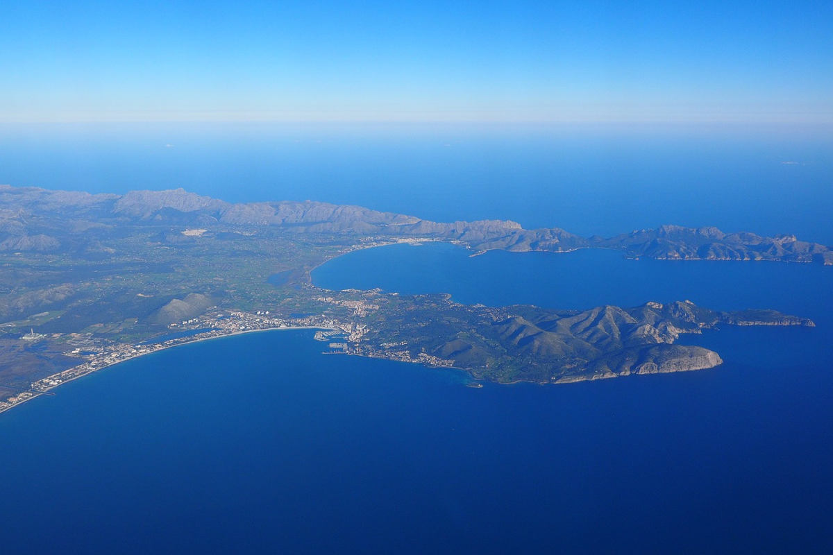 Mallorca aus der Luft