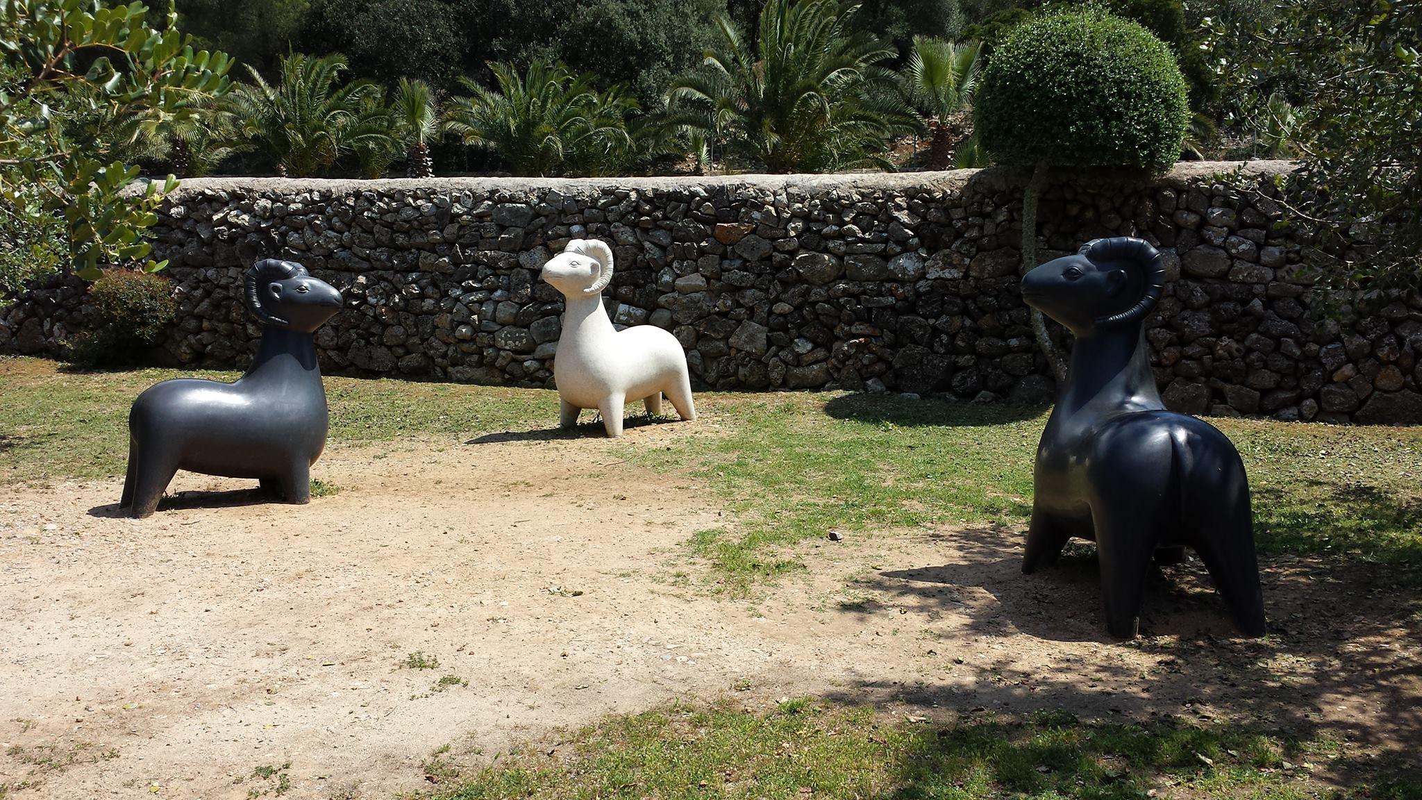 Wilma /  Sa Bassa Blanca Skulpturengarten