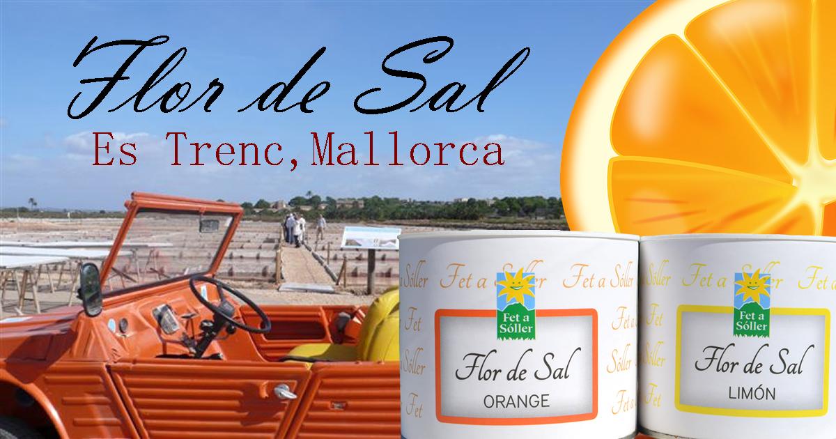 "Flor de Sal -Orange- Salzblume ""Fet a Sóller"""