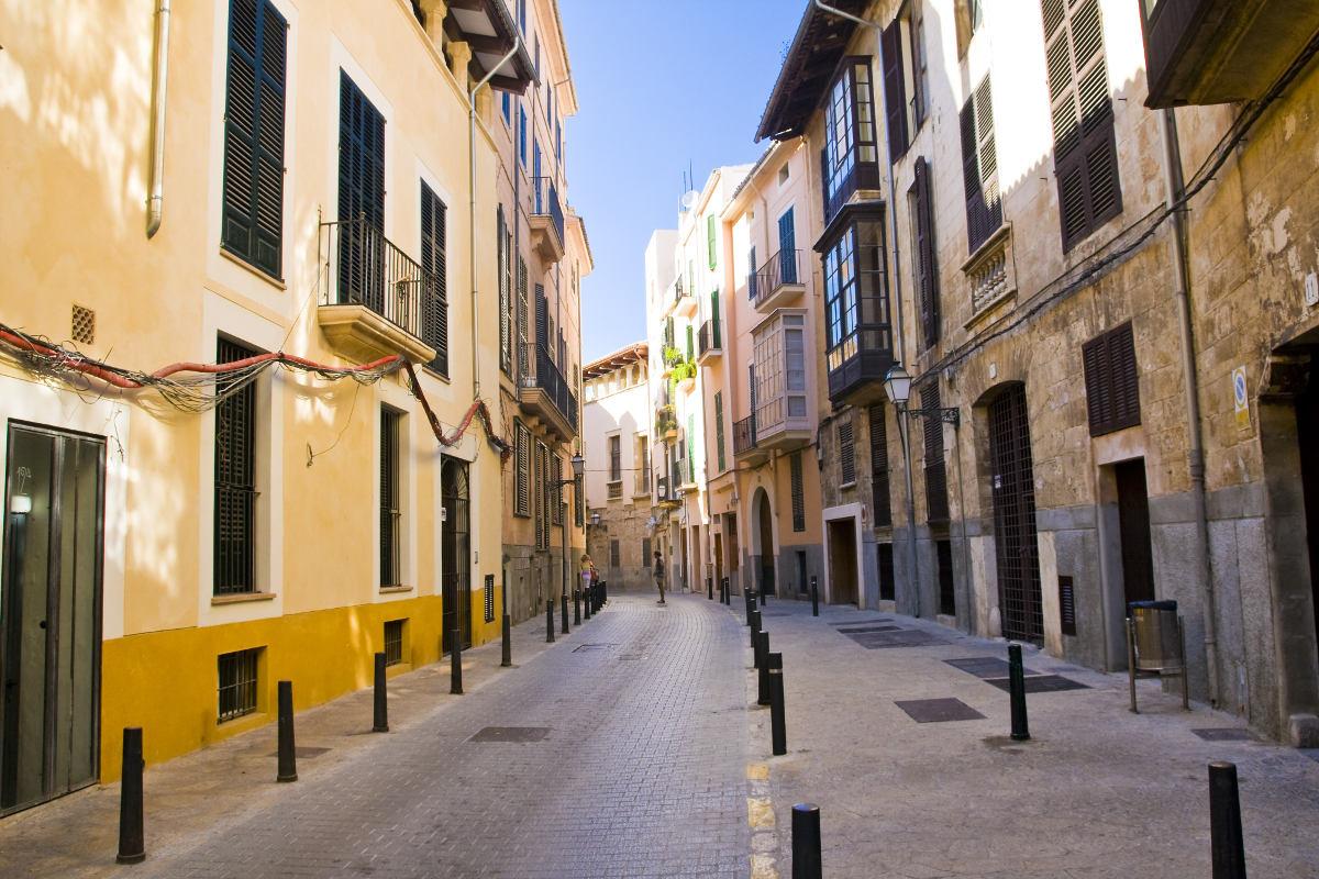 Altstadtgasse in Palma