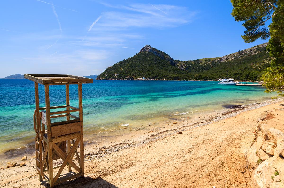 Playa Formentor (Cala Pi de la Posada)