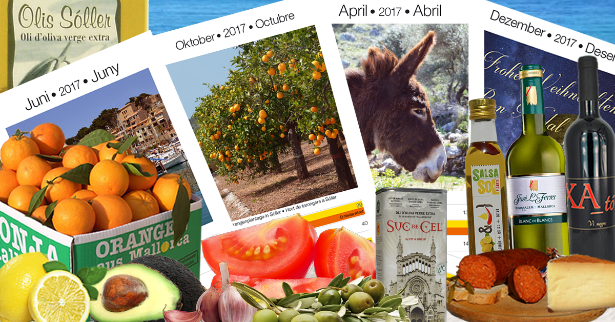 Fet a Sóller Kalender 2017
