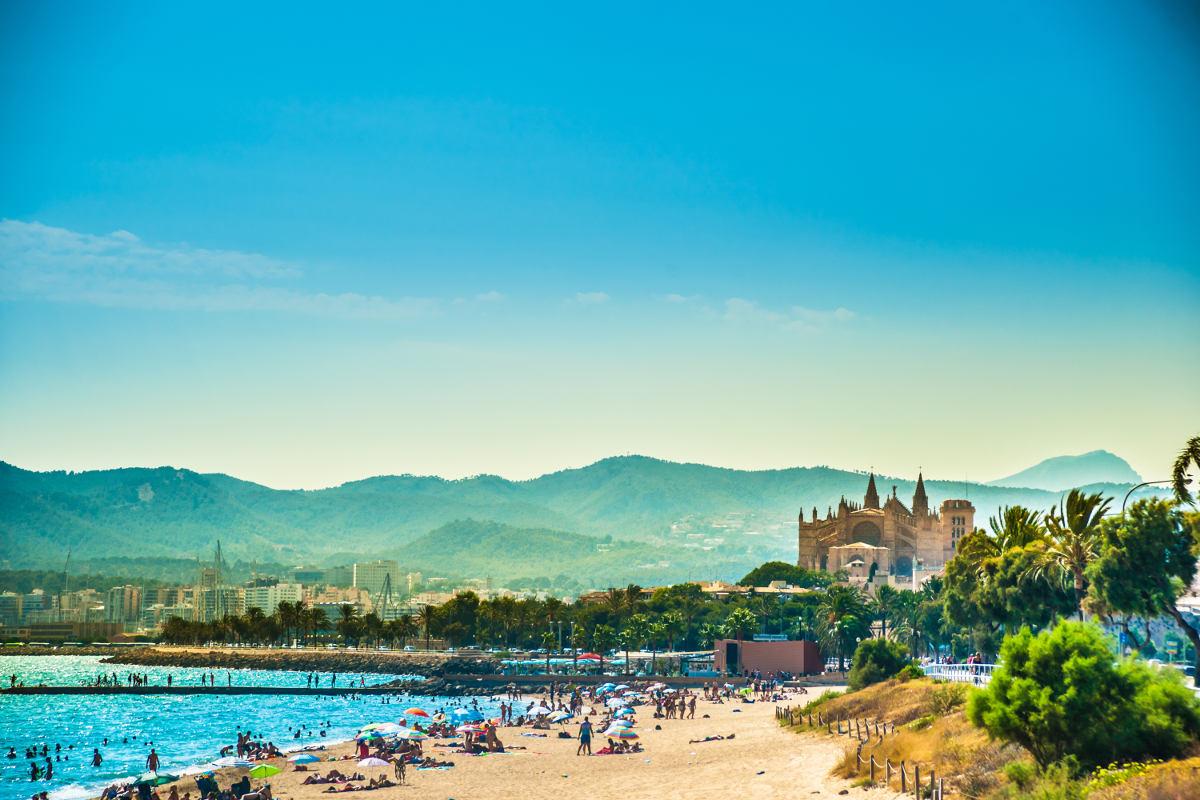 Blick auf Palma