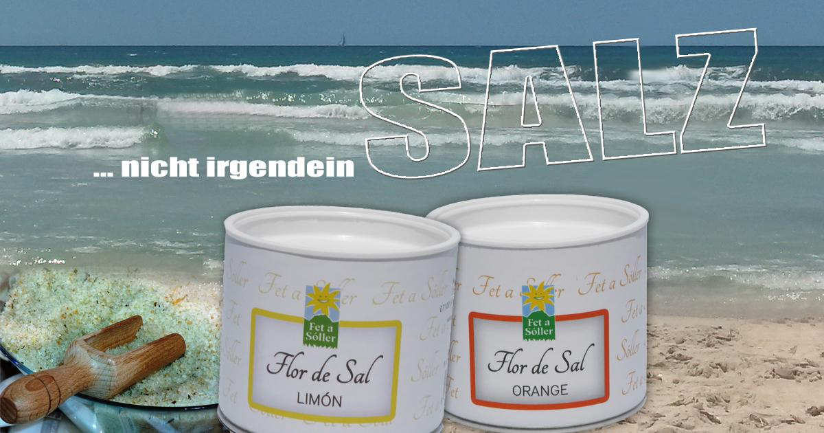 Jetzt Flor de Sal hier bei Fet a Sóller online bestellen...