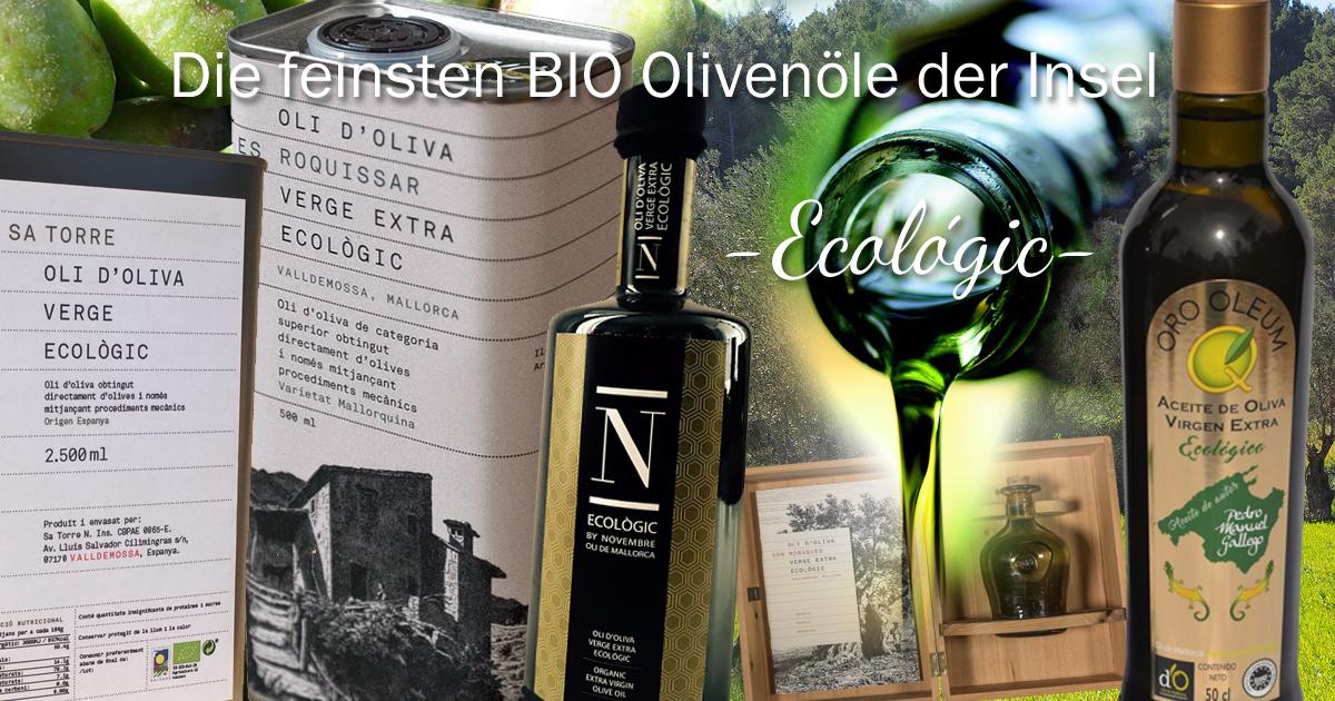 BIO Olivenöle Mallorcas