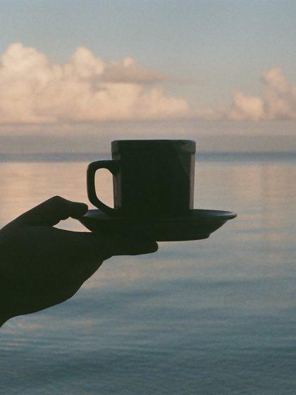 Kaffeetrinken auf Mallorca