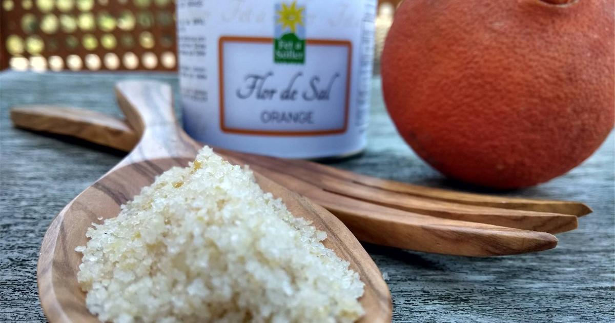 Das Salz Mallorcas! -Flor de Sal mit Orange