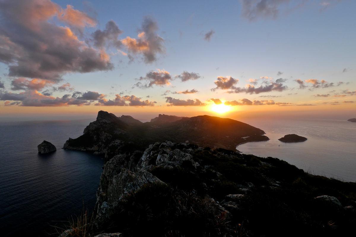 Sonnenaufgang über Formentor