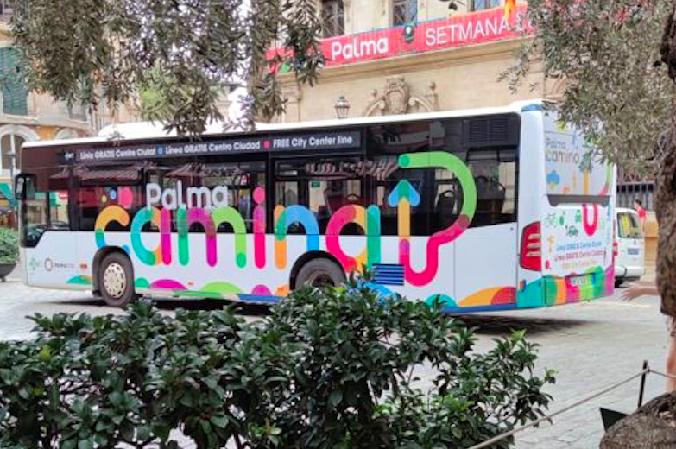 Palma kostenlos mit dem Linienbus entdecken!