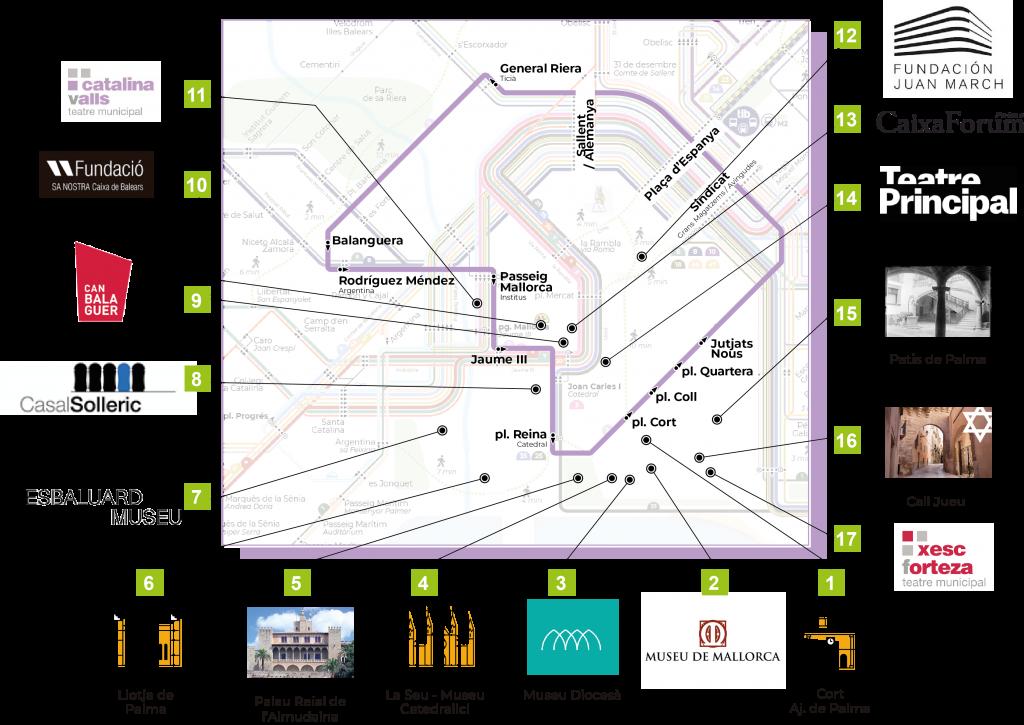 """Die Linie 2 der EMT Palma wird in """"Centre ciutat"""" unbenannt und kann ab sofort von jedermann kostenlos genutzt werden."""